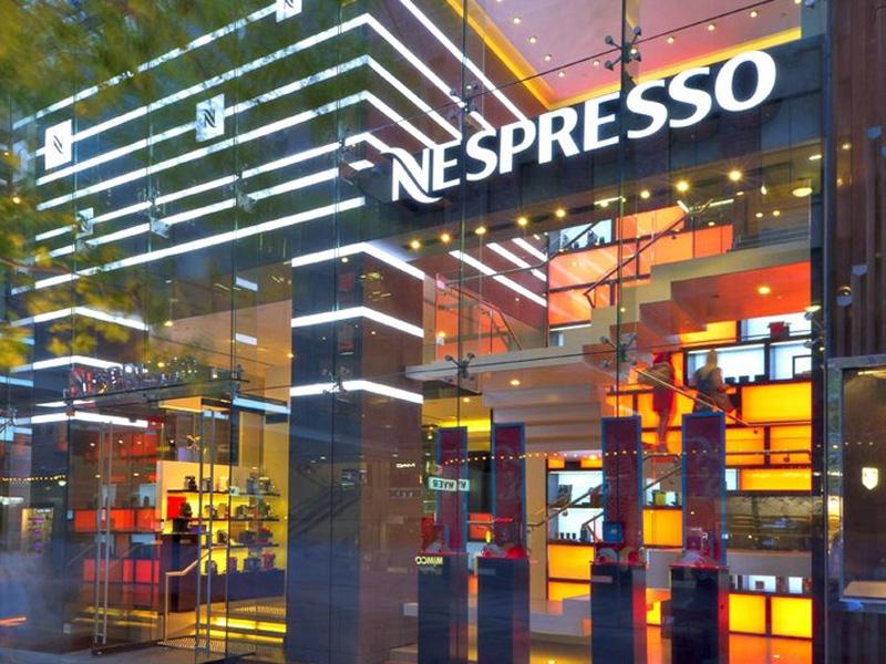 Nespresso to Expand into Western Canada -> Nespresso Ottawa