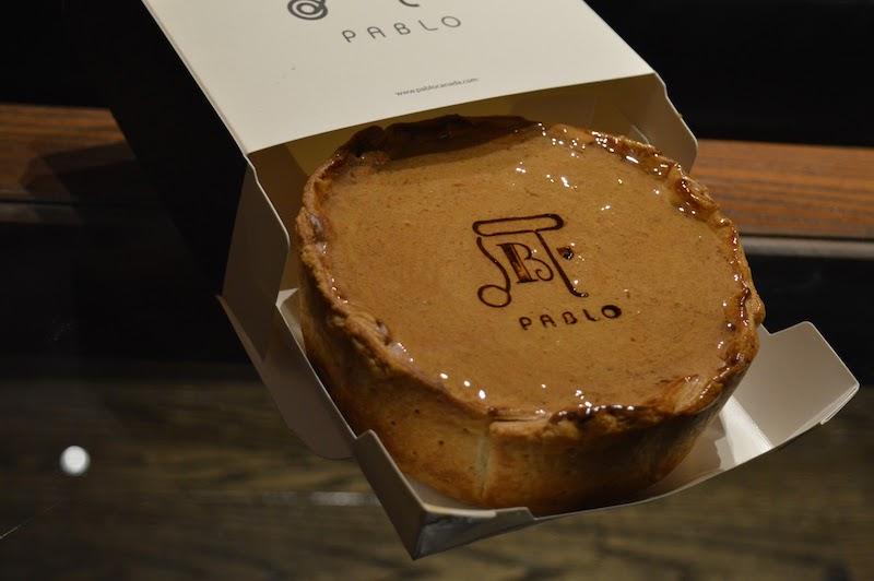 pablo cheese tart