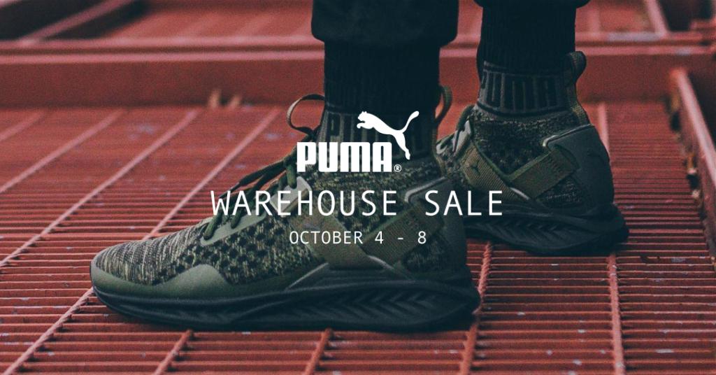 puma warehouse sale