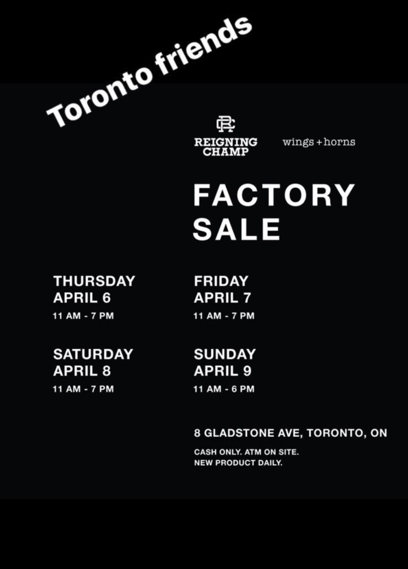 wings + horns factory sale