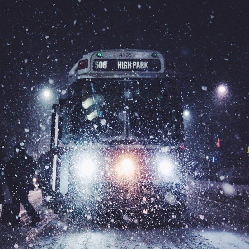 toronto huge snowfall