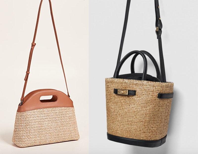 The Straw Bucket Bag Images Via Bop Zara