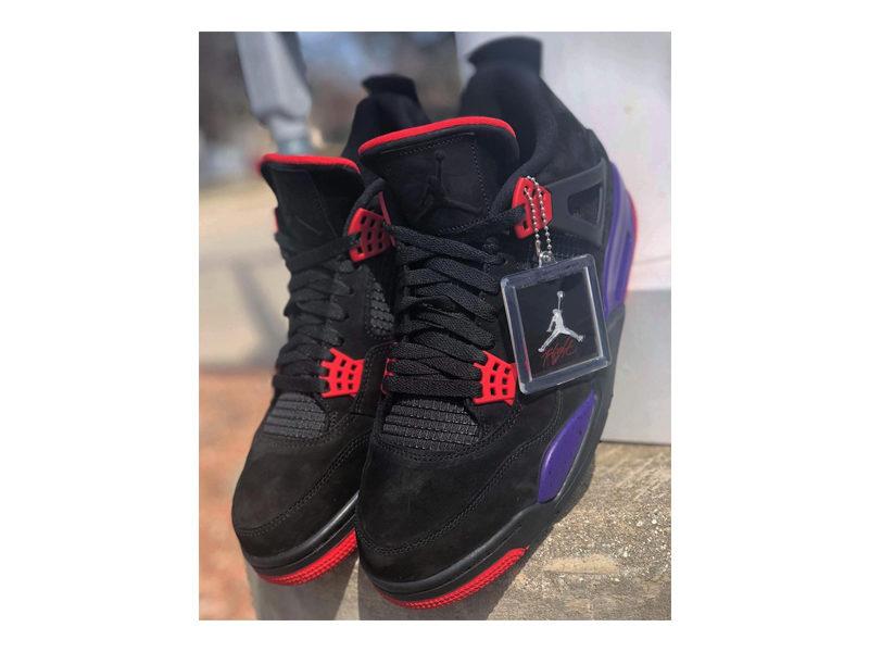 """de8ccf42fd Say Hello To the Newest Air Jordan 4 """"Raptors"""""""