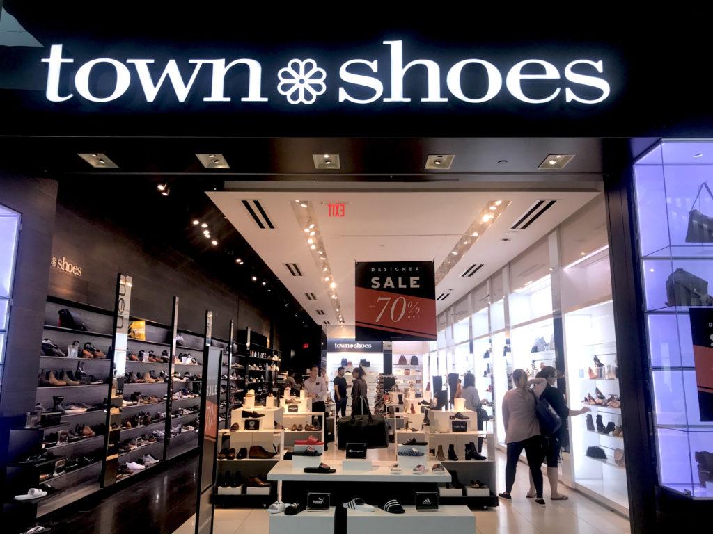 town shoes warehouse sale 2018