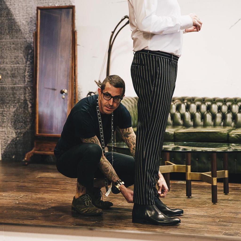 Tailor toronto unveils bullet proof suit exclusive photo