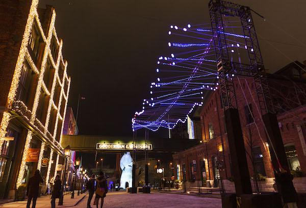 Toronto light fest 2019