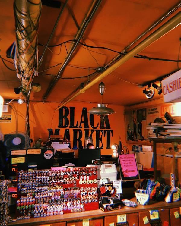 black market closing
