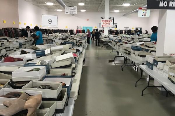 warehouse sample sales toronto