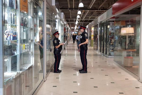 eight charged fake goods raid