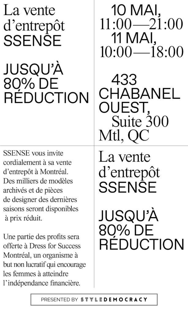 ssense wear-house sale