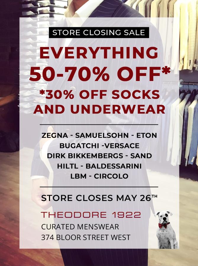 theodore 1922 store closing