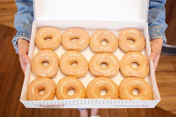 free krispy kreme donuts