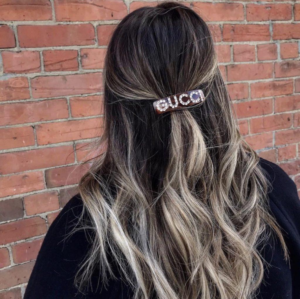 clean hair beauty