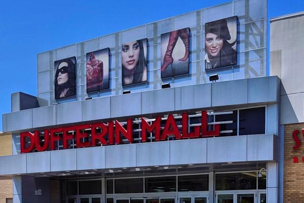 dufferin mall construction