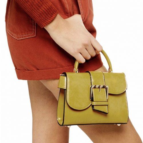 TOPSHOP Minny Buckle Mini Bag