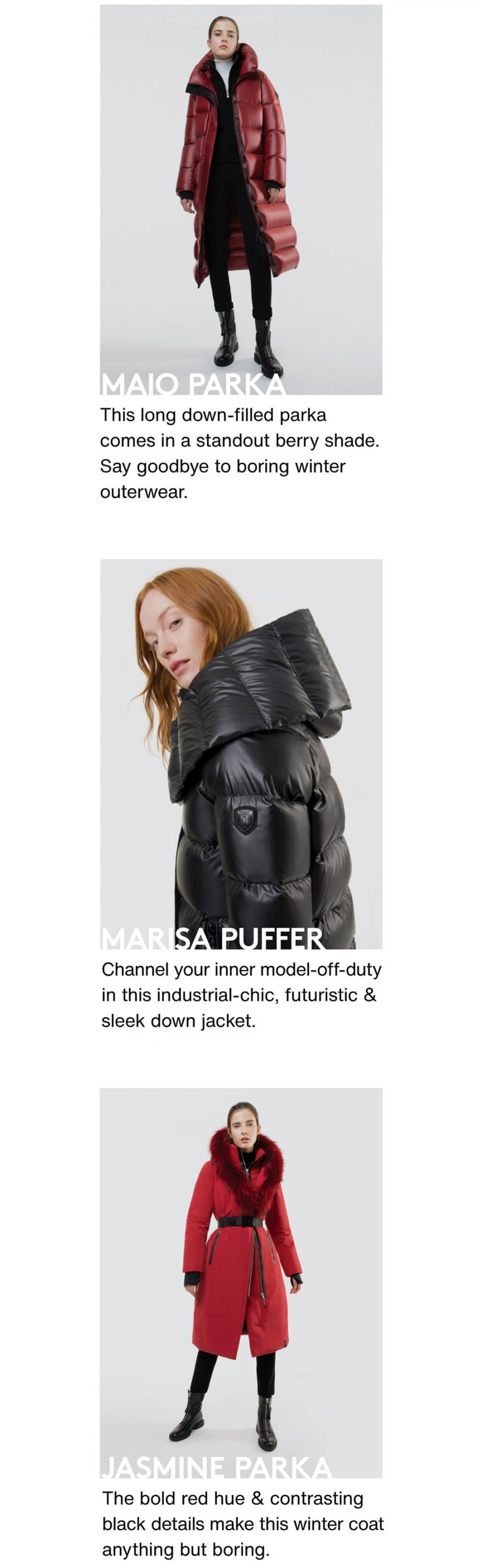 Here's a sneak peek of RUDSAK's most fashionable finds: