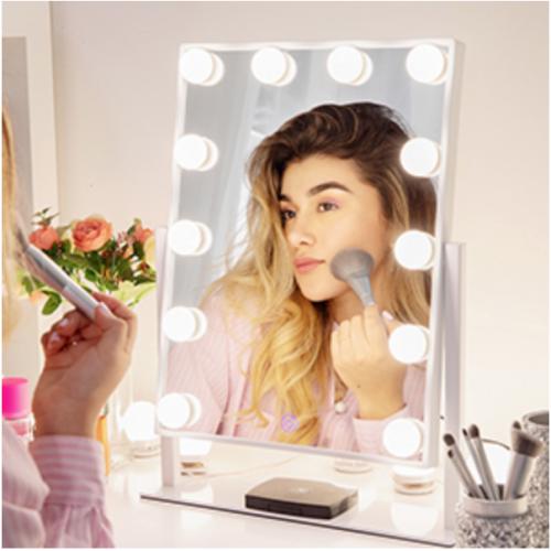 Chende Hollywood Miroir De Maquillage Lumineux