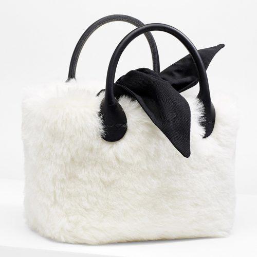 MUUN Bear Small Basket Bag
