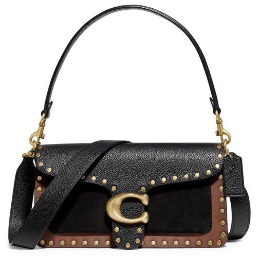 Coach Tabby Leather & Suede Crossbody Bag