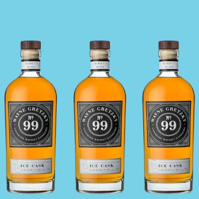 Wayne Gretzky Whisky Tonneau de distillerie