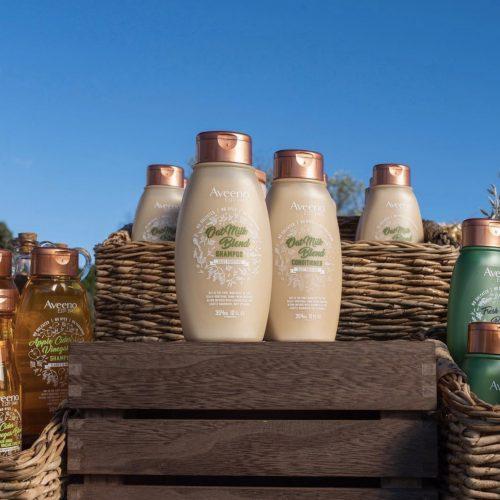Aveeno Oat Milk Blend Shampoo + Conditioner