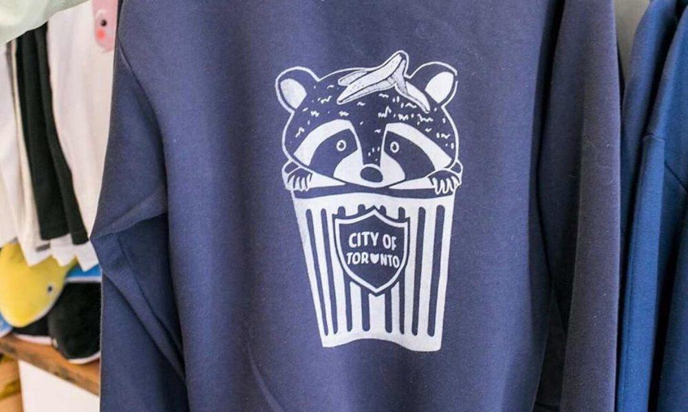 Trashcan Racoon Sweatshirt