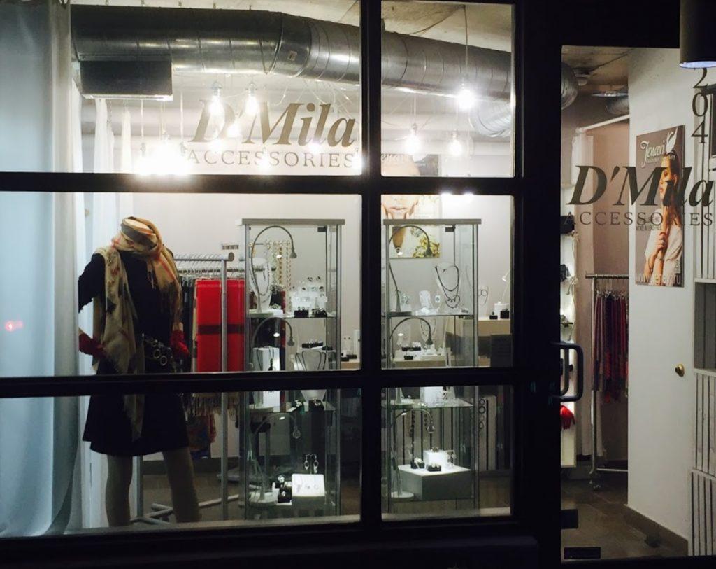 D'Mila Storefront