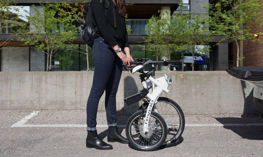 Folding bike revelo toronto