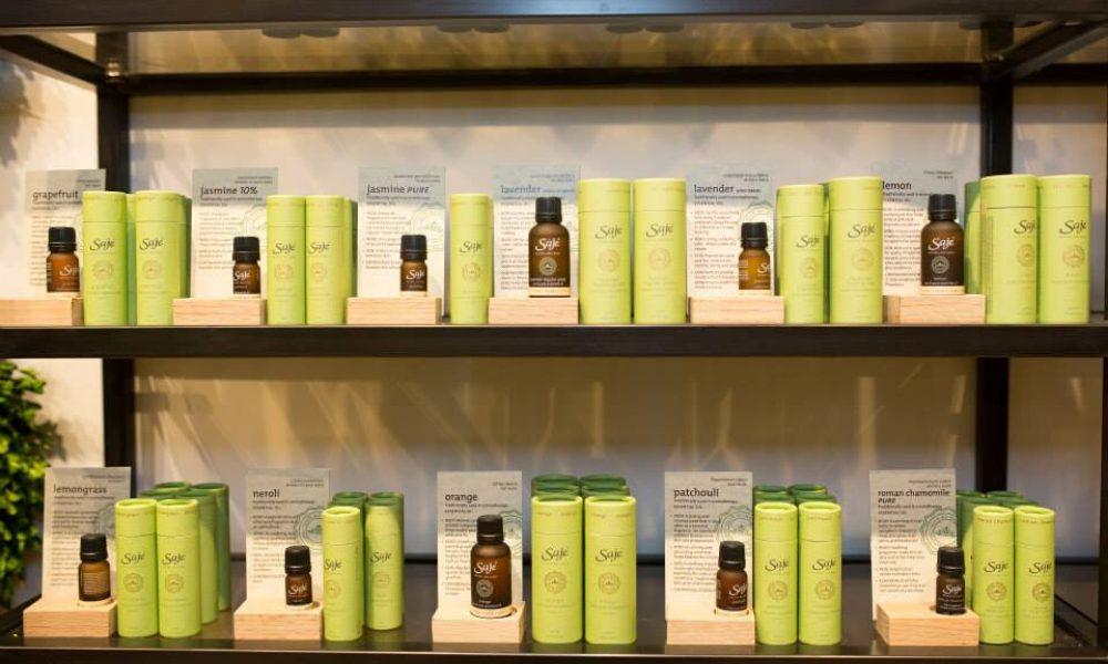 Saje Natural Wellness essential oils