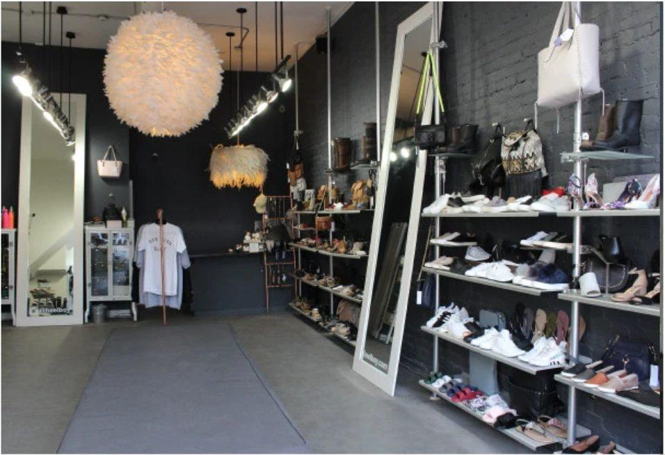 heel boy store interior
