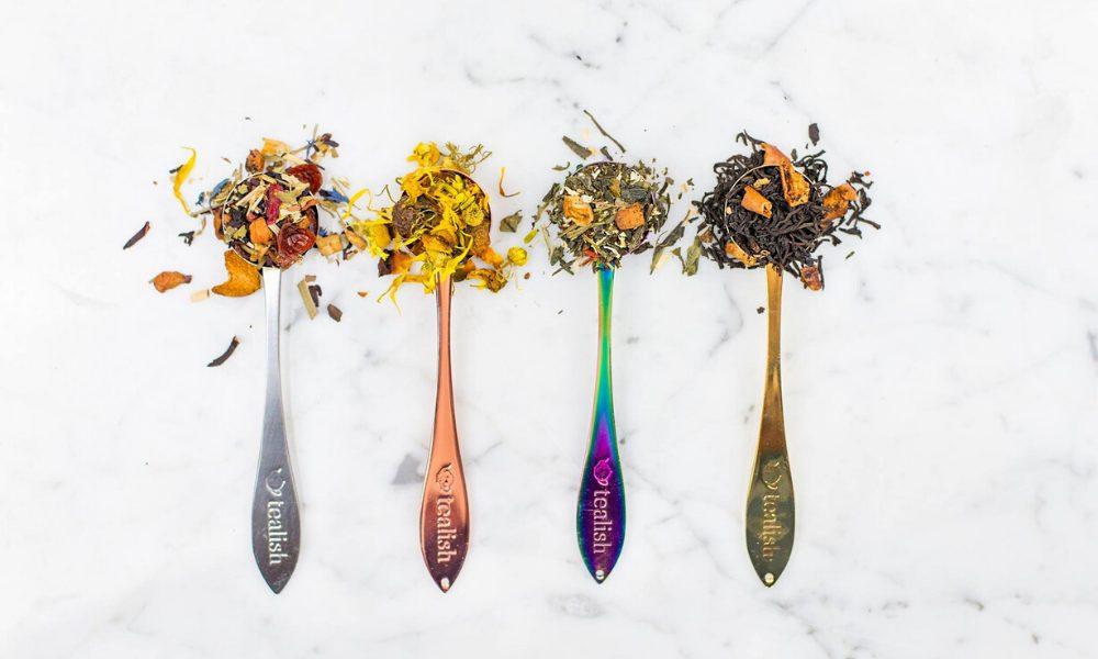 Tealish Fine teas spoons