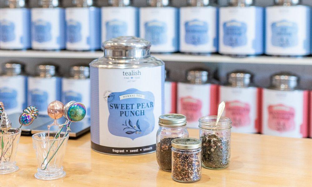 Tealish Fine Teas tea collection