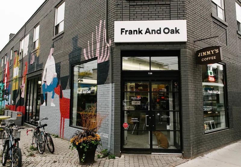 Frank and Oak Storefront