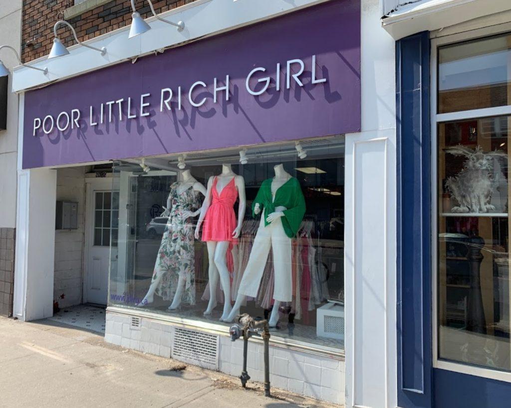 Poor Little Rich Girl Storefront
