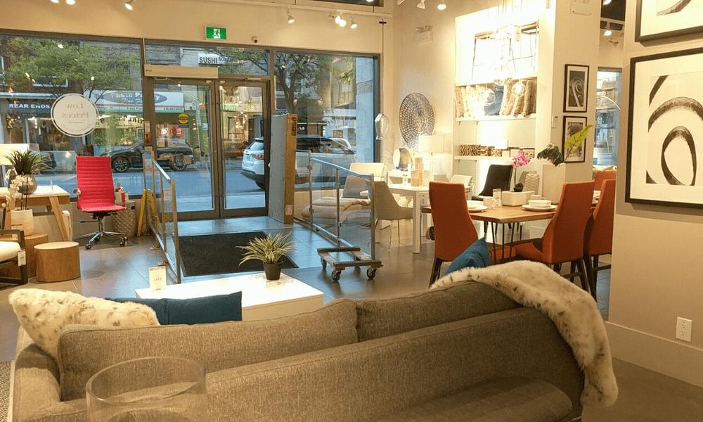 Structube shop interior