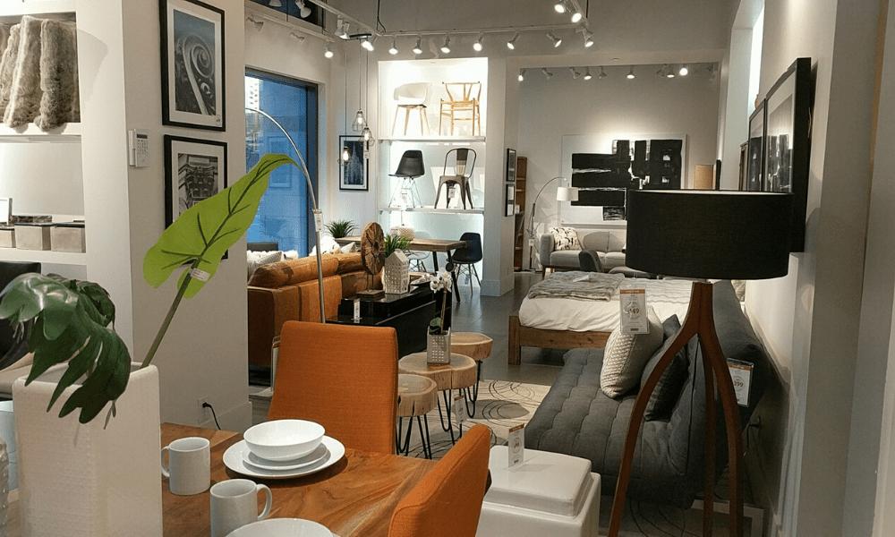 home decor showroom