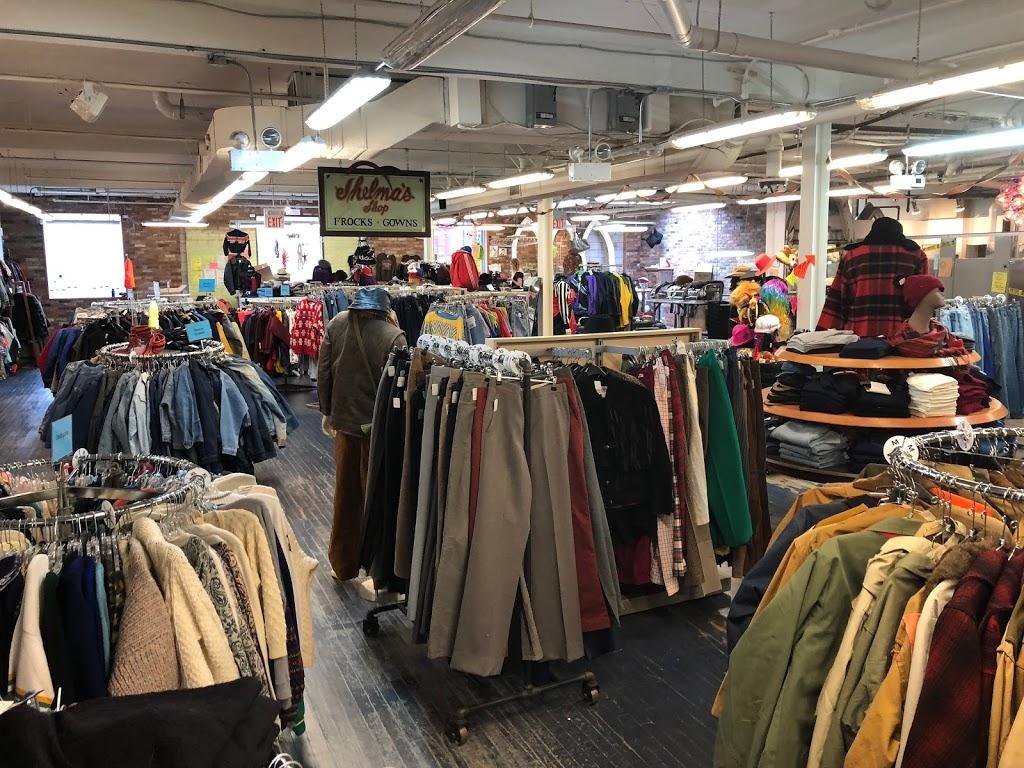 black market clothing racks