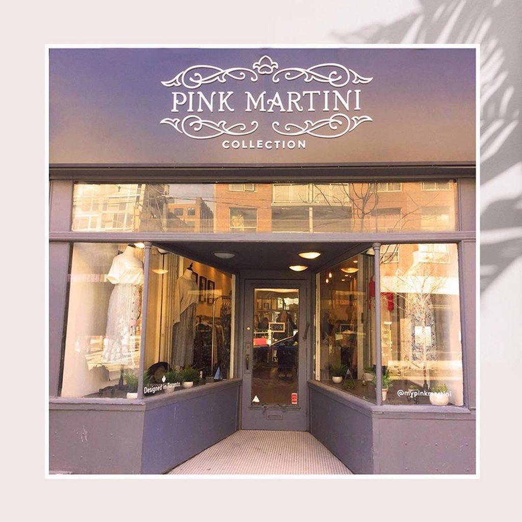 Pink Martini outside