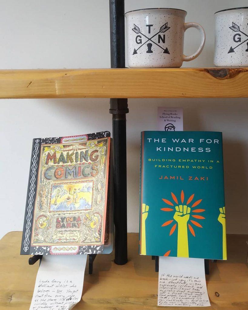 Flying Books Shelf