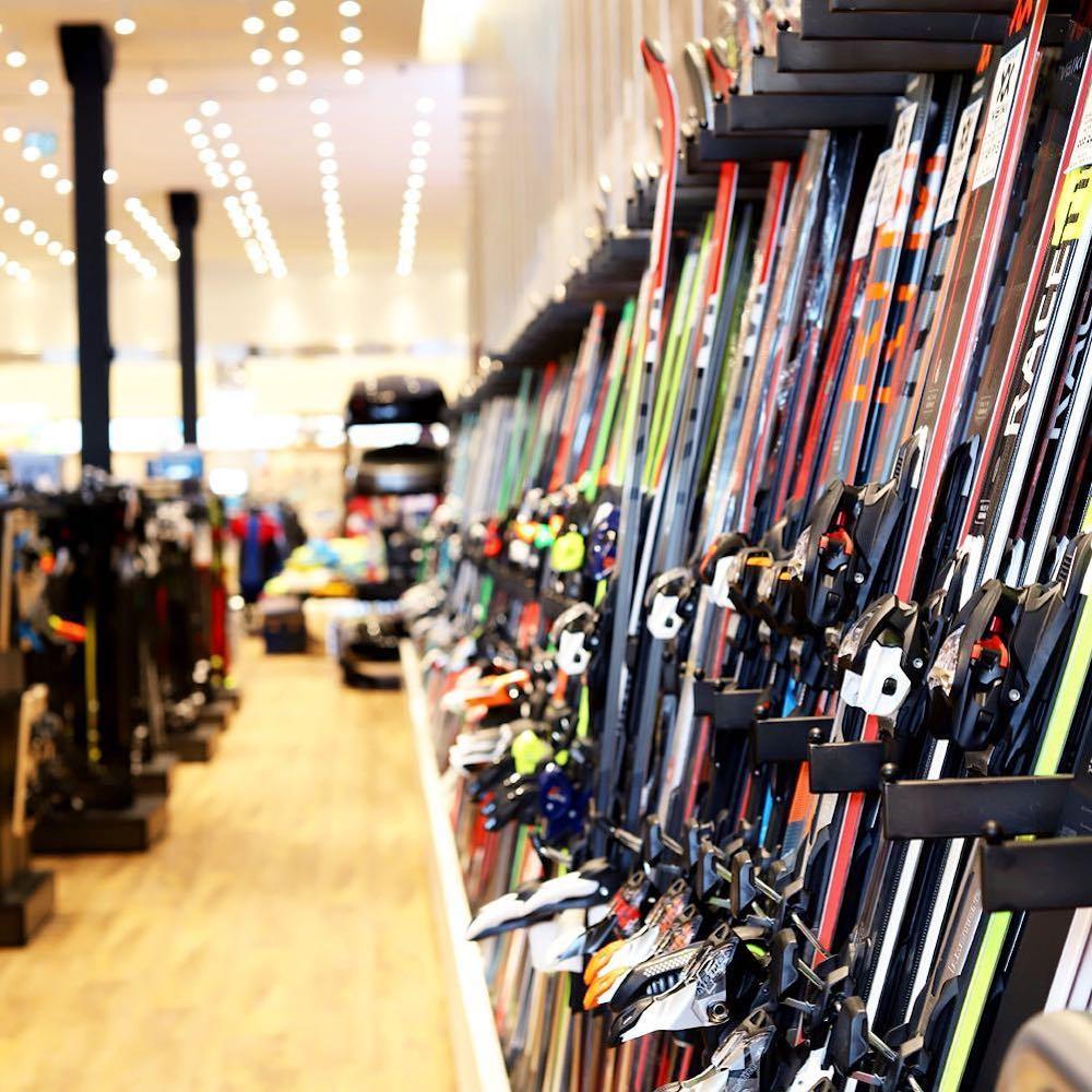 sporting life ski rack