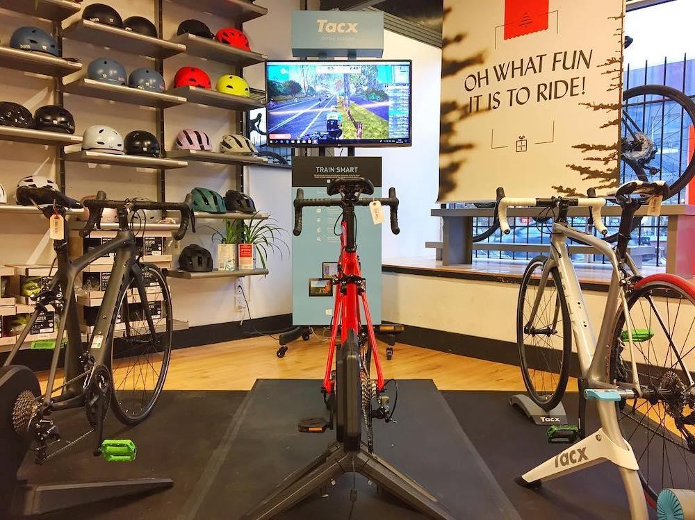 Bike display