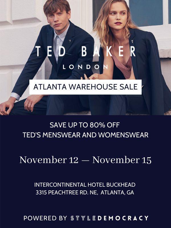 Atlanta Ted Baker Warehouse Sale