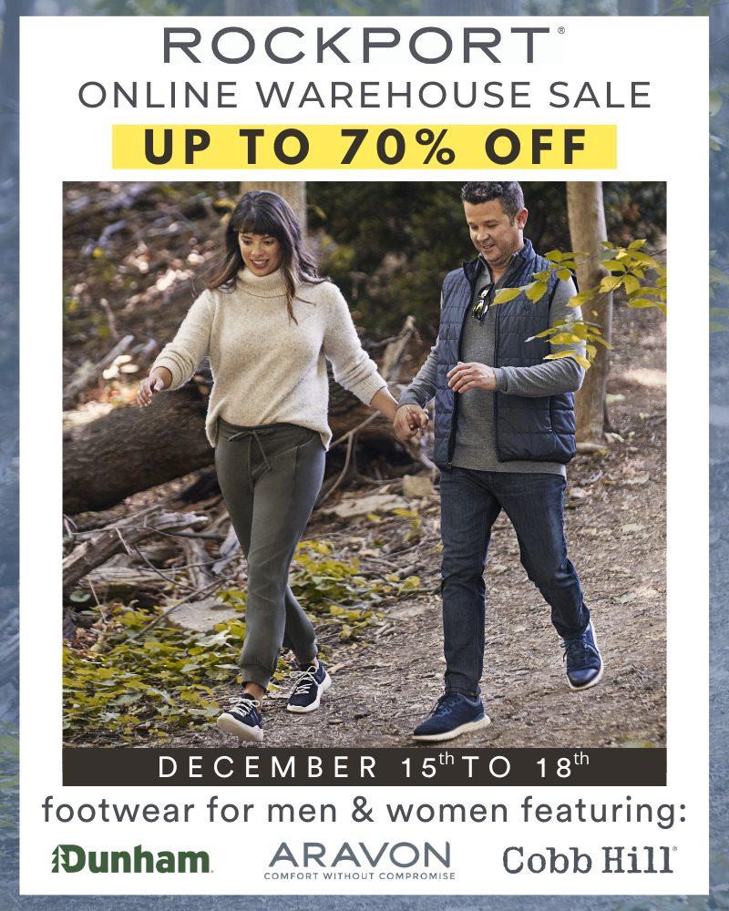 Rockport Online Warehouse Sale